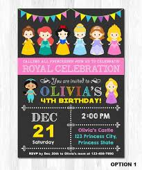 template printable disney character birthday invitations borders