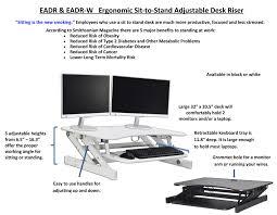 amazon com rocelco eadr deluxe ergonomic height adjustable sit