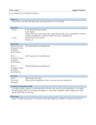 Acting Resume Template Free Download Resume Template Download Microsoft Word Resume For Your Job