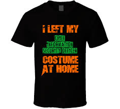 Security Guard Halloween Costume Chief Information Security Officer Halloween Costume Funny