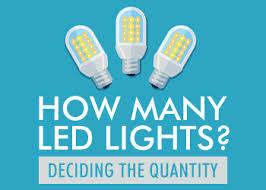 led light consumption calculator deciding led light quantity how many is much charlston