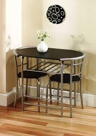 dining room very small black dining table space saver dining set