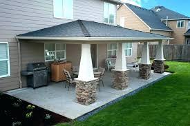 Concrete Patio With Pavers Cover Concrete Patio Diy Concrete Patio Cover Ups Ideas Design