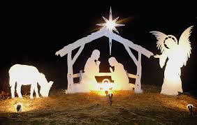 size outdoor nativity set by mynativity