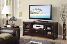 Contemporary Tv Cabinets For Flat Screens Contemporary Tv Stand With Glass Panel Side Storage Huntington
