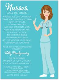 nurse graduation invitations template best template collection