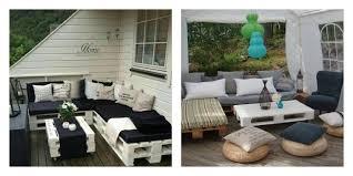 canapé exterieur palette 50 idées originales pour fabriquer votre salon de jardin en palette