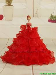 beautiful coral red little dress with appliques and pick ups