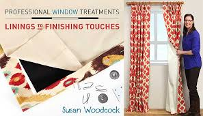Drapery Patterns Professional Professional Window Treatments Online Sewing Class