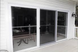 Sliding Glass Patio Doors Prices Gorgeous Three Panel Sliding Patio Door Discount Sliding Glass