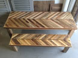 reclaimed wood kitchen table kitchens design