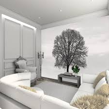 living room living room wall murals living room wall decals black tree with branches without leaf living room wall murals modern bright living room interior design