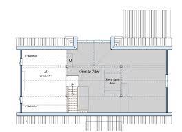 floor plan the cabot barn house one foot print three floor plan