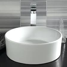 ceramic bathroom sinks pros and cons vessel bathroom sinks ceramic circular vessel bathroom sink vessel
