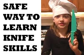 childrens kitchen knives knife skills for cooking lesson play doh knife