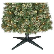 9ft prelit artificial tree virginia pine clear lights