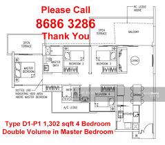 sqm to sqft the trilinq 4 bedroom type d1 103 sqm 1109 sqft d1 p1 br rivergate