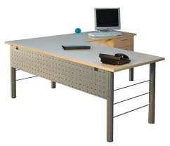 L Shaped Office Desk Furniture Metal Leg L Shape Desk Modern Desks Pinterest Desks And Modern