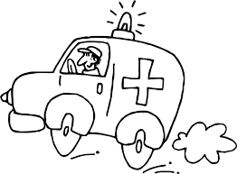 fastest ambulance coloring pages print air lego ambulance