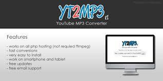 Mp3 Converter Yt2mp3 Mp3 Converter Php Script Php Multimedia Scripts