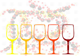 wine clipart abstract background with wine glasses vector clipart image 38079