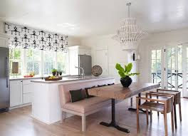 Cottage Kitchen Tables by Rough Hewn Dining Table With Leather Bench Cottage Kitchen