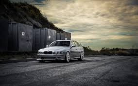 bmw m5 slammed bmw m5 e39 road containers wallpaper 1680x1050 16196