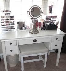 Vanity Stand Mirror White Vanity Desk Goplus White Vanity Table Jewelry Makeup Desk