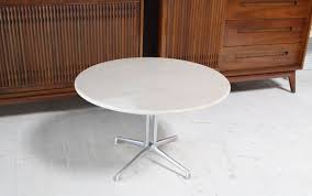 Marble Table Tops For Sale by La Fonda Charles Eames White Marble Top Coffee Table At 1stdibs