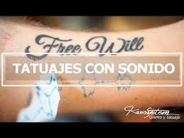 tatuajes con sonido sound wave tattoo youtube