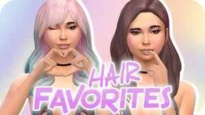 sims 4 hair cc the sims 4 top 10 maxis match hair cc showcase links youtube