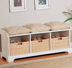 Padded Storage Bench Bench Design Astounding Padded Bench Seats Entryway Benches