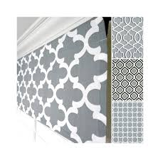 cool grey valance gray window valance grey black valance grey