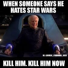 Star Wars Nerd Meme - greek star wars geek do you know some of these traitors