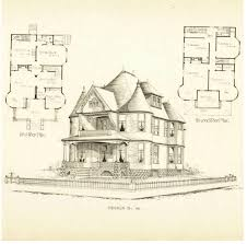 100 victorian home blueprints 100 gothic floor plans