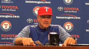 Jeff Banister Jeff Banister Sorts Through Sam Dyson U0027s Woes Youtube