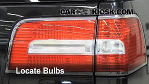 Tail Light Out Tail Light Change 2003 2016 Lincoln Navigator 2011 Lincoln