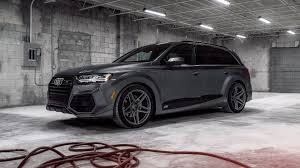 audi q7 abt and vossen team up for a mean looking audi q7