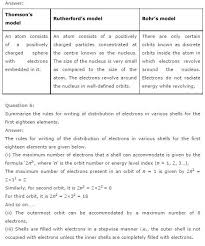ncert solutions for class 9th science chapter 4 structure of the