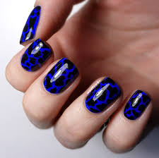 dark blue nail art how you can do it at home pictures designs