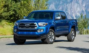 toyota trucks 2016 toyota tacoma first drive review autonxt