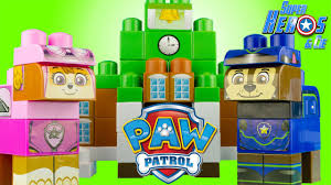 paw patrol adventure bay blocks ionix mega bloks 4k toy