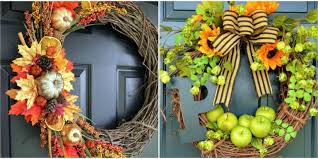 fall wreaths 26 easy diy fall wreaths best wreaths for fall