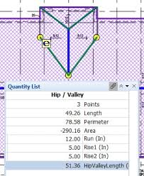 Hip And Valley Roof Calculator Roofing Takeoff Software Roof Estimating Etakeoff