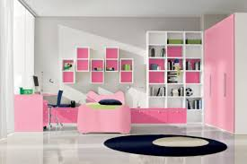 pink bookcase on the wallabove headboard white pink chest of
