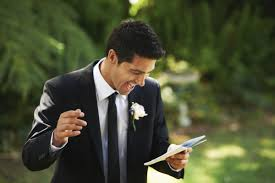 wedding groom thank you guests at the wedding groom wedding speech
