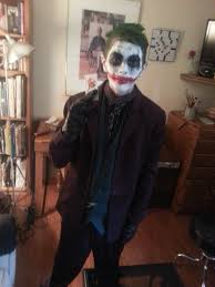 Dark Knight Joker Halloween Costume My Son U0027s Dark Knight Joker Costume Creation