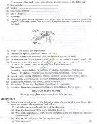 icse question papers 2013 for class 10 u2013 biology aglasem schools