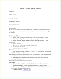 education section of resume example teacher resume sample teaching resume example sample teacher educational resume format resume blank educational resume format biology teacher resume examples educator resume template free