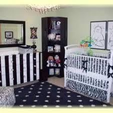 Retro Nursery Decor Baby Nursery Design With Yellow And Grey Patterns Retro Decoration